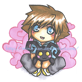 Sora and Hearts by Miina-san