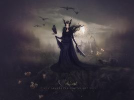 Maleficent by CindysArt