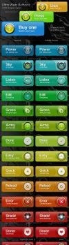 Ultra Web Buttons FOR SALE by PremiumGFX
