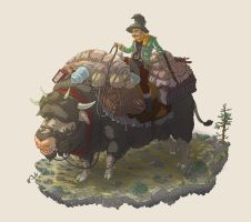 Woodland Traveller 2 by Joudrey