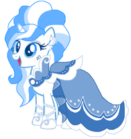 I changed her mane just a bit X3 by Ponyness1