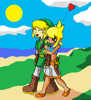 Young Love- After Wind Waker by Mongoosquilax