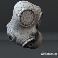 Gas Mask by Kuzey3d