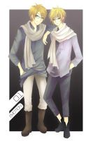 APH Alfred and Arthur Glasses by bianca0908