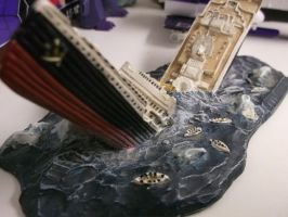 RMS Titanic sinking pic #2 by forever-at-peace