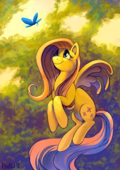 Fluttershy by pinali