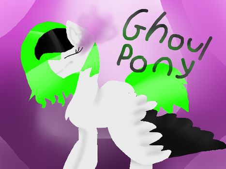 Ghoul Pony by neonthefox12310