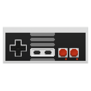 Nes Controller in the Pixels by gfball84887