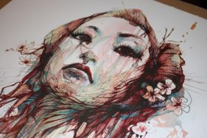 Strength Giclee Print by Carnegriff