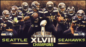 Seahawks Superbowl XLVII Champions by Stealthy4u