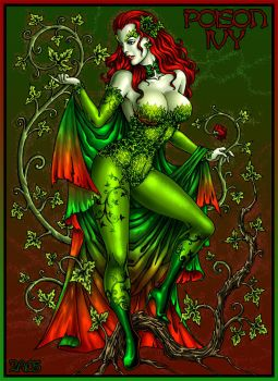 Poison Ivy color by Candra