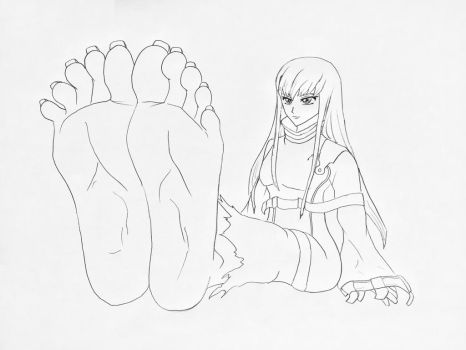 I Will Grant You These Feet by OrangeThunder2
