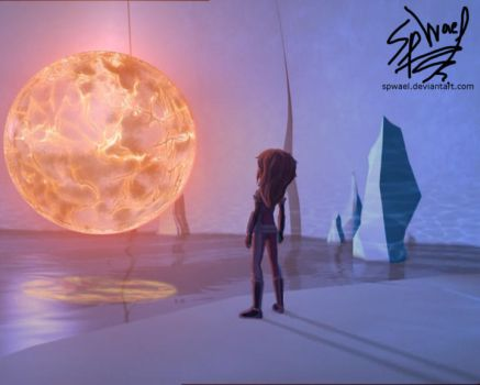 Aelita Finds the Guardian by FireLordWael