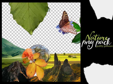 Nature PNG Pack by guiltty-pleasure