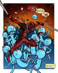 Mr Deadpool - Collab w Mike Vasquez by JoeHoganArt