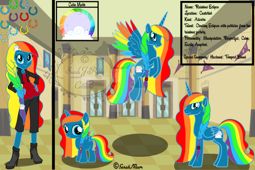 Rainbow Eclipse ~ Re-Design by SarahRawr18
