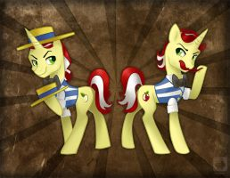 The Charming Flim Flam Brothers by gabapple