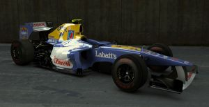 Williams FW33 with a twist by motionmedia