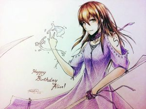 :G: Happy B-day Alice!~ Choka by LyricaDreams