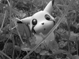 Dark Pikachu by caothicart