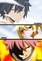 Gray, Lucy and Natsu - Chapter 535 by LucyHeartfiliaR