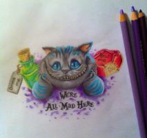 We're all mad here by CreativeCurseKina