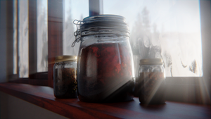 Jars at the morning by Skarabus