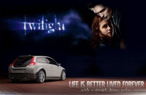 Twilight Volvo Ad, Modified. by snakechaarmer