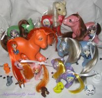 Fruits Basket Custom Ponies 1 by mayanbutterfly