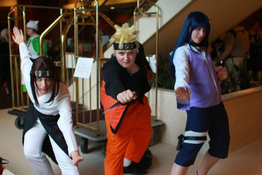 Another Anime Con 2013 - Leaf Clan by VideoGameStupid