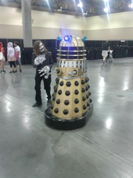 Jack Skellington and the Dalek 2012 PHXCC by ImperialCody