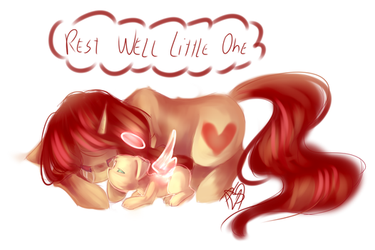 Rest well little one by PrettyShineGP