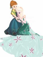 A Warm Hug - Frozen Fever by YaneYing