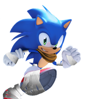 Sonic (Boom Style) from Issue 257 by Silverdahedgehog06