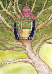 Treehouse by yanadhyana