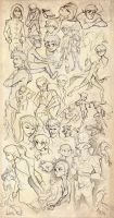 Young Justice Sketch Blitz by dou-hong