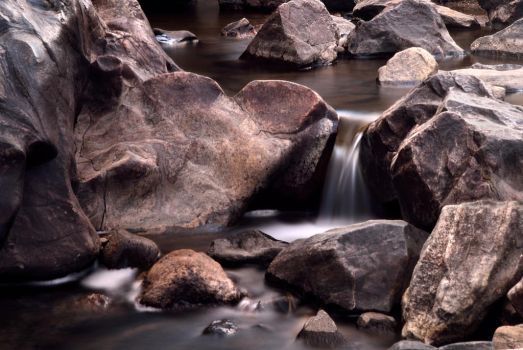 Pocket Water, Clear Creek, Golden CO by kevoka