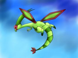 Flygon by Cloudy-Darkness