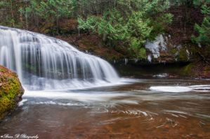 Lower Henderson Falls Part 2 by Brian-B-Photography