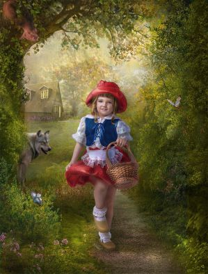 Little Red Riding Hood by Lotta-Lotos