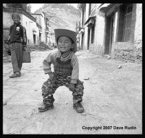 Little Cowboy, Gyantse, Tibet by DaveR99
