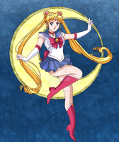 Sailor Moon by Jeanette-Black