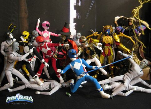 Mighty Morphin Power Rangers by thedollknight