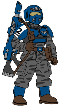 2nd Company Guardsman by SigvardSteel