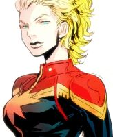 Captain Marvel by dogsup