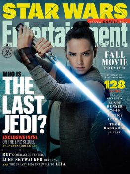 Star Wars: The Last Jedi Rey EW Cover by Artlover67