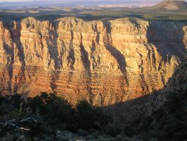 Sunset at the rim 2 by grenztruppen