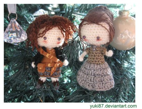 commission: Outlander Claire and Jamie by Yuki87
