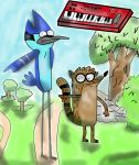 MORDECAI AND RIGBY THE POWER REMAKE by Cokedark11
