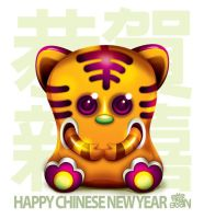 Happy Chinese New Year 2010 by Seanleedesign